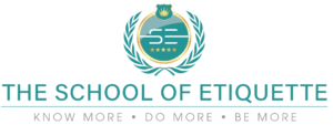 the school of etiquette logo